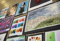 Fine arts - wall display - DederichWCGSApril-38