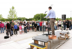 Heritage - Cornerstone ceremony May 2010