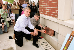 Heritage - Time capsule placed 2010
