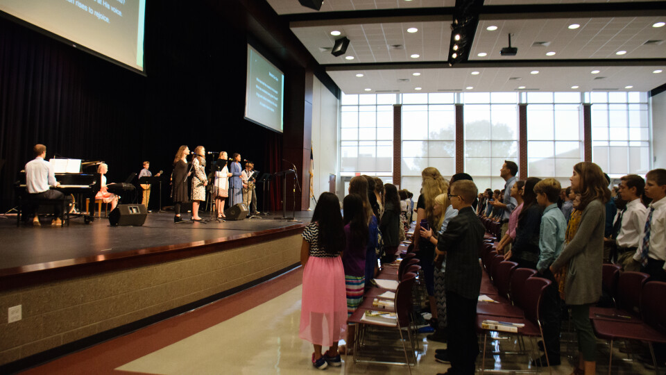 All-School Praise and Worship Chapel
