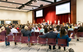 Annual Awards Assembly Honors Student Achievements