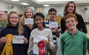 Two WCGS Students Move on to Regional Spelling Bee Competition