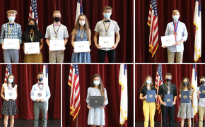 2021 Awards Assembly Honors Student Achievements